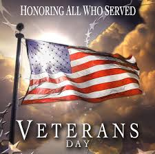 Happy Veteran's Day from Blinds Etc.