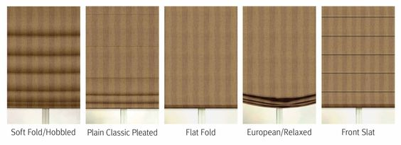 Getting To Know Roman Shades Pt1 Factory Direct Blinds